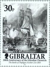 """GIBRALTAR - 2001 - 200th. Anniversary of the """"The Gibraltar Chronicle"""" - Sc.#881"""
