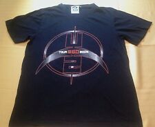 U2 360 Degree Tour 2009 Black T Shirt Tee 100% Cotton Adult XL