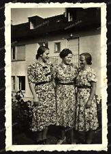 Foto-Stuttgart-Gebäude-Architektur-Frauen-Kleid-Cute-Women-Dress-1930er Jahre-2