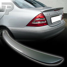 PAINTED W203 For Mercedes BENZ BOOT REAR SPOILER TRUNK A TYPE 07 744 SILVER