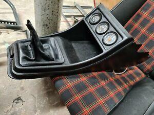 VW Golf Mk1 GTI Pirelli TINTOP Black Centre Console + GAUGES VDO