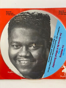 """Fats Domino I'm Walkin Exc Limited Collectors Addition 7"""" Picture Disc Record"""
