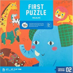 My First Animal Puzzle Set Of Six Wildlife By Jar Melo