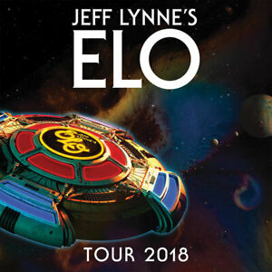 Jeff Lynne's ELO official tour programme
