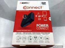 EMTEC Connect U800 32GB Lithium-Ion (Li-Ion) 5200mAh Schwarz Akkuladegerät, NEU