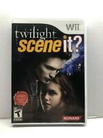 Scene It Twilight - Nintendo Wii Game - Complete & Tested Working - Free Ship