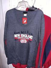 New England Revolution Long Sleeve T-shirt Major League Soccer Mls _ Women's L