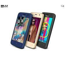 Blu C4 Android V. 8.1(Go Ed,) Unlocked Cell Phone - Desbloqueado Brand New