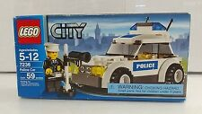 COLLECTABLE Lego City POLICE SQUAD CAR- 7236 Retired Set