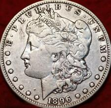 SCARCE 1896-o  MORGAN SILVER DOLLAR COIN> 1896-o Very Fine New Orleans Mint COIN