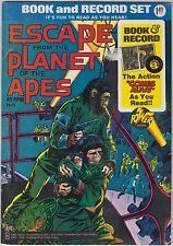 ESCAPE FROM THE PLANET OF THE APES - 1974 Comic & 45rpm Record by Power Records