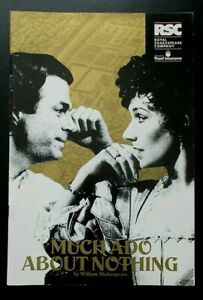 Much Ado About Nothing programme RSC Barbican Theatre 1991 Alex Kingston