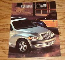 Original 2002 Chrysler PT Cruiser Foldout Sales Brochure 02