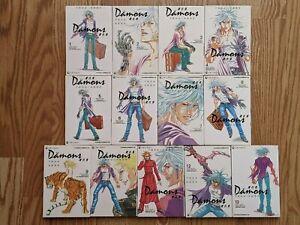 Damons 復仇鬼 Manga 1 to 13 Osamu Tezuka & Hideyuki Yonehara 手塚治虫 Tradition Chinese