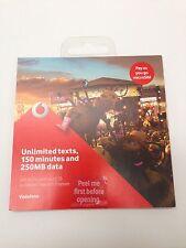 Vodafone Bronze Mobile Phone SIM Cards