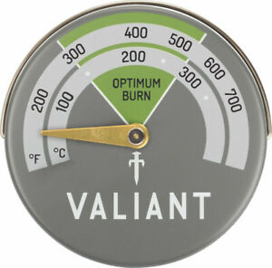 Valiant Magnetic Log Burner Stove Thermometer - FIR116