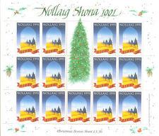 Ireland-Christmas 1991 sheet mnh