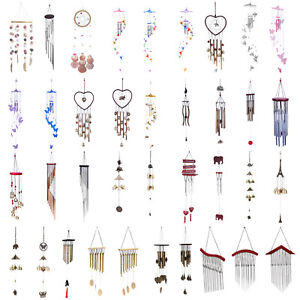 Colorful Hair Balls Wind Chimes Yard Garden Party Hanging Ornament Decor Gift