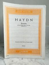 Einzel-Ausgabe Haydn Sonate Piano 1941