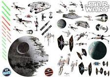 STAR WARS - Wall Sticker set: Space Battle - new official