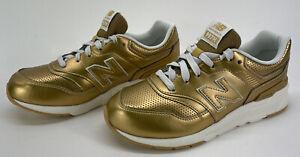 New Balance 997H Womens Size 6.5 W Kids 4.5 Sneaker Classic Gold And Sea Salt