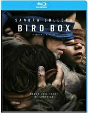 Bird Box Blu Ray 2018 /Sandra Bullock/ Region Free  (ABC) English Spanish French
