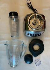 Oster Classic Series Blender with Travel Smoothie Cup - Chrome