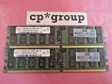 Hp Hynix 8Gb 2x4Gb 2Rx4 Pc2-6400P Ddr2-800 Ecc Reg Server Memory Ram 504465-061