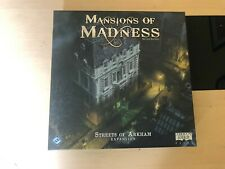 Fantasy Flight Games Mansions of Madness Streets of Arkham Expansion BNIB