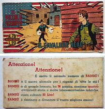 Striscia IL PICCOLO SCERIFFO IIª Serie N 79 TORELLI 1953