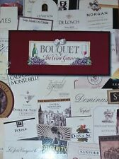 NEW Bouquet: The Wine Game by Britt Marie Backe - Multi Color B1330