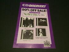 DEPECHE MODE TANYA TUCKER HEART BMG DIRECT CD CLUB USA MAIL ORDER CATALOG 1990