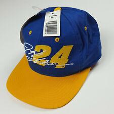 NEW Vintage Jeff Gordon #24 Embroidered NASCAR Snapback Race Hat Cap NOS