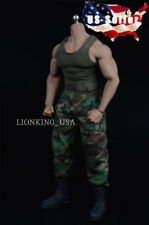 1/6 Combat Tank Top Set with Boots B For M34 M33 Muscular Male Figure ❶USA❶