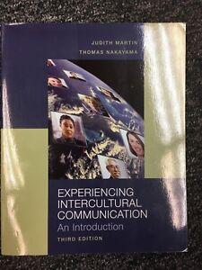 Experiencing Intercultural Communication by Thomas K. Nakayama and Judith N. Mar