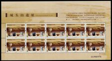 China PRC 2005-24 Chengtou Shan Archäologie Ausgrabungen 3700 Kleinbogen ** MNH