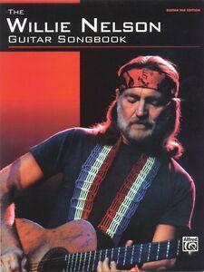 The Willie Nelson Guitar Songbook Sheet Music Guitar Tablature Book NE 000700107