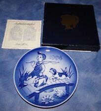 1994 Bing & Grondahl Children'S Day Barnets Dag Plate