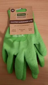 Town & Country Master Gardener Lite Gloves Green Size Medium