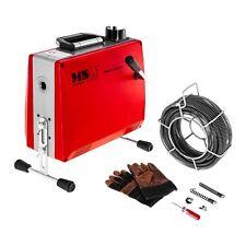 Rohrreinigungsmaschine 390 W Rohrreinigungsgerät Rohrreiniger Spirale 400 U/min
