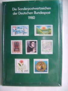 Jahrbuch 1980 - Sonderpostwertzeichen der Deutschen Bundespost - BRD + Berlin