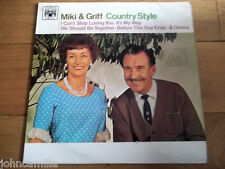 """MIKI & GRIFF - COUNTRY STYLE 12"""" LP / RECORD - MARBLE ARCH RECORDS - MAL 699"""