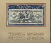 Most Treasured Banknotes Hungary 20 Forint 1975 UNC P 169f Serie C261