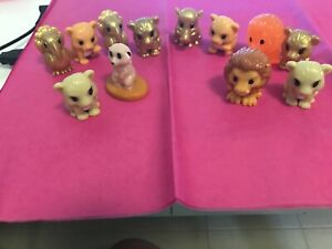 GREAT OPPORTUNITY TO OWN 12 OOSHIES & 3 CHARACTER TOYS RARE ITEMS