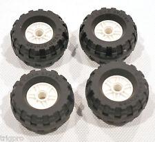 NEW Lego Rim Set four 37x18R Tires 18mm D. x 14mm Rims EV3 MINDSTORMS
