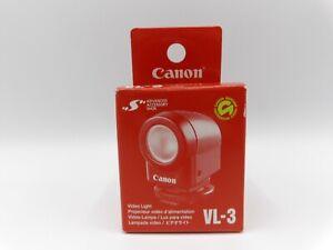 Canon VL-3 On Camera 3 Watt Video Light for Advanced Accessory Shoe Camcorders