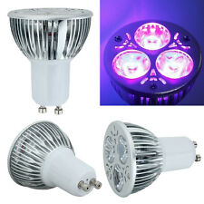 High Power 3W 3x1W GU10 UV Ultraviolet Purple Light LED Bulb Lamp 85-265V