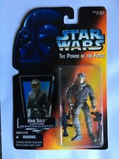 """Han Solo Hoth - Star Wars The Power Of The Force - Red - 3.75"""" ActionFigure"""