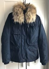 PARAJUMPERS Masterpiece Series Down Insulated DENALI Parka W/ Real Fur Size XXS