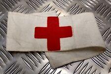 Genuine Vintage British Military AMS Army Medical Service Red Cross Medic Flash